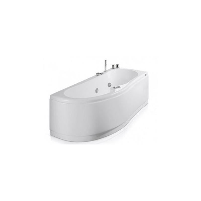 Vasca con telaio misure 170x70 75 vasca da bagno glass lis - Vasche da bagno misure ridotte ...