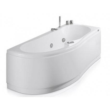 Vasca glass idee creative e innovative sulla casa e l - Vasca da bagno angolare misure ...