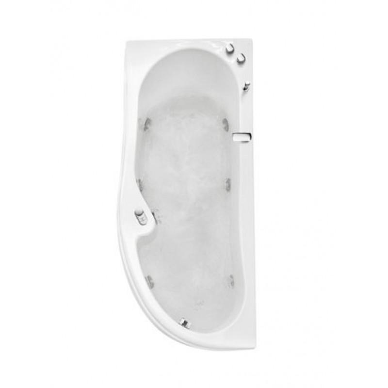 Misure vasca idromassaggio angolare glass vasca da bagno lis - Vasca da bagno quadrata ...