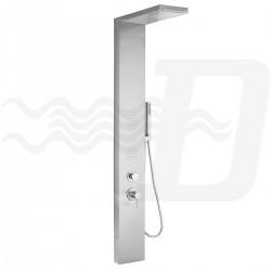 Colonna doccia - parete attrezzata multifunzione con idromassaggio mod. Manhattan di Metaform