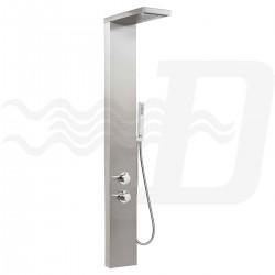 Colonna doccia - parete attrezzata multifunzione con idromassaggio mod. Manhattan Plus di Metaform