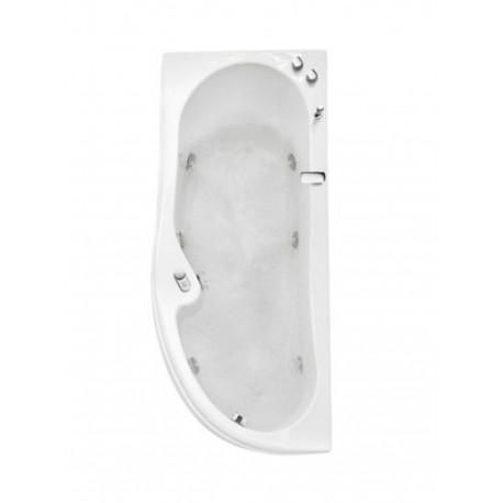 misure vasca idromassaggio angolare glass vasca da bagno