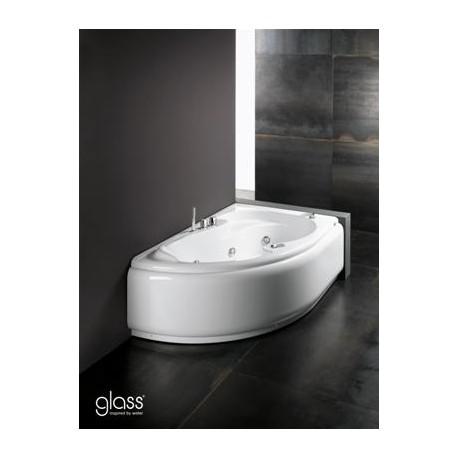 Misure vasca idromassaggio glass lis 150x100 vasca angolare - Misure vasche da bagno ...