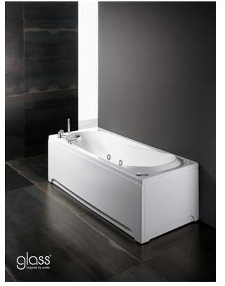 Vasca bagno offerte la ceramica group - Vasca da bagno angolare misure ...
