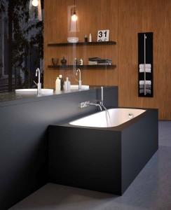 Vasca da bagno in acrilico arredo bagno moderno for Arredo bagno angolare