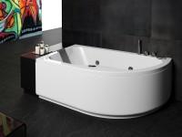 vasca da bagno in acrilico glass